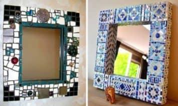 как украсить зеркало идеи